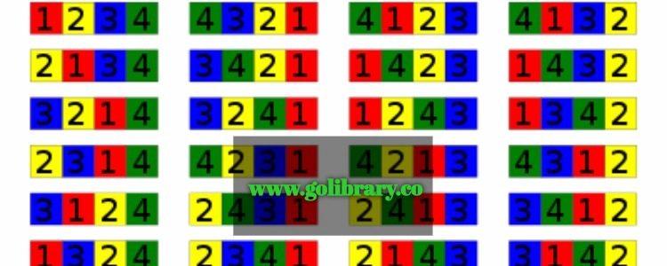 sum of permutations of digits
